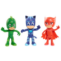 PJ Masks Deluxe Talking Action Figure Set