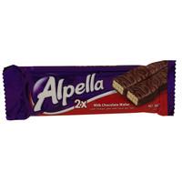 Alpella Milk Chocolate Wafer 36g
