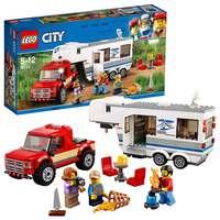 Lego City Great Vehicles Pickup and Caravan Playset