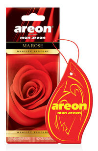 Areon Air Freshener Mon Rose Cardbaord