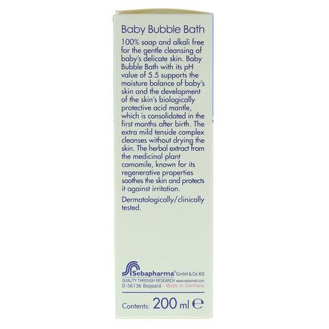Sebamed-Baby-Bubble-Bath-200ml