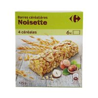 Carrefour Cereal Hazelnut 125 Gram
