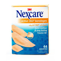 Nexcare Active 360° Bandages 44 Assorted Bandages