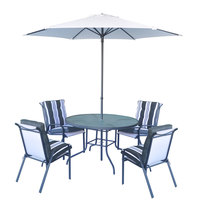 Rona Patio Set 6Pcs Without Umbrella Base