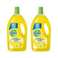 Dettol Multi Purpose Cleaner Lemon 900ML X2 -50%