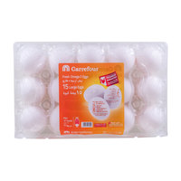 Carrefour Fresh Omega3 15 Large Eggs