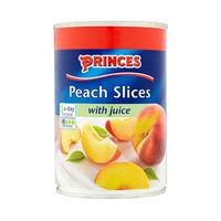 Princes Peach Slices With Juice 410GR