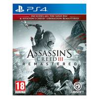 Sony PS4 Assassins Creed 3 Remastered