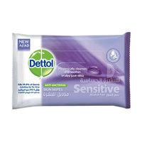 Dettol Skincare Antibacterial Skin Wipes 10 Pieces