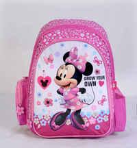 """Minnie - Backpack 16"""" Bk"""