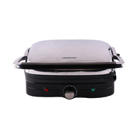 KENWOOD Grill HG 367 1500 Watt Stainless Steel