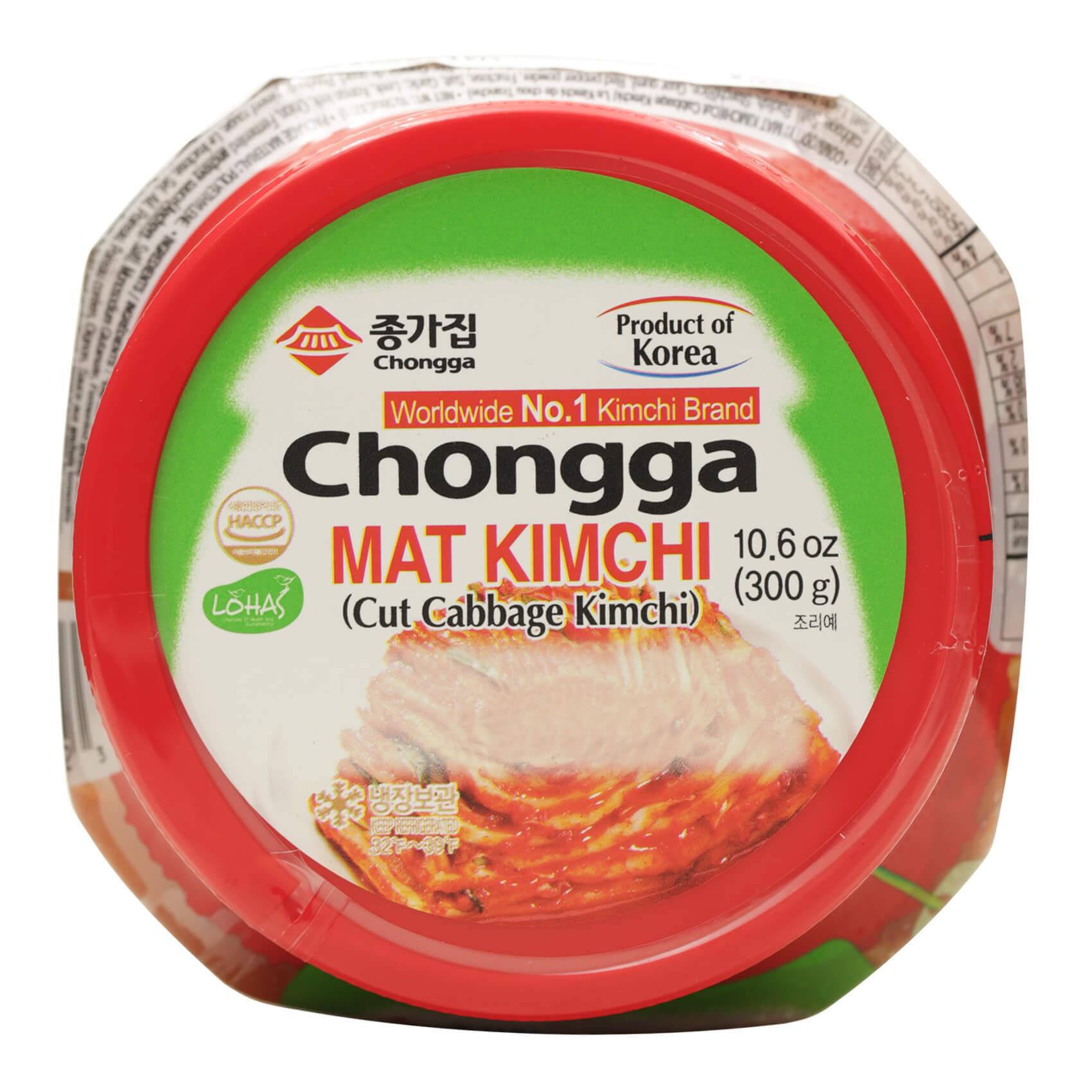 CHONGGA CHOPPED CABBAGE KIMCHI 300G