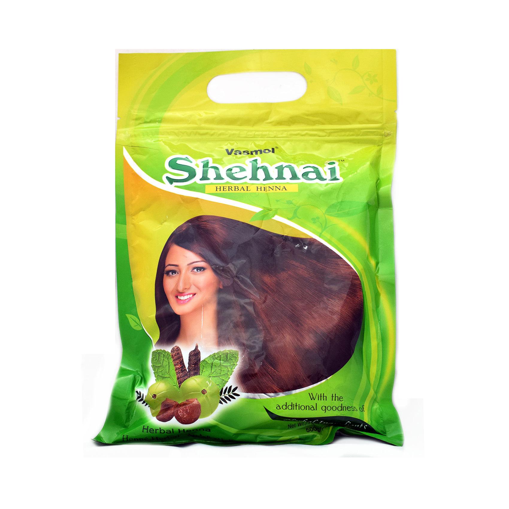 VASMOL SHEHNAI HENNA POWDER 500G