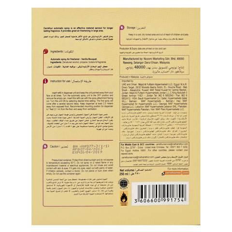 Carrefour-Freshmatic-Vanilla-Bouquet-with-Dispenser-250ml