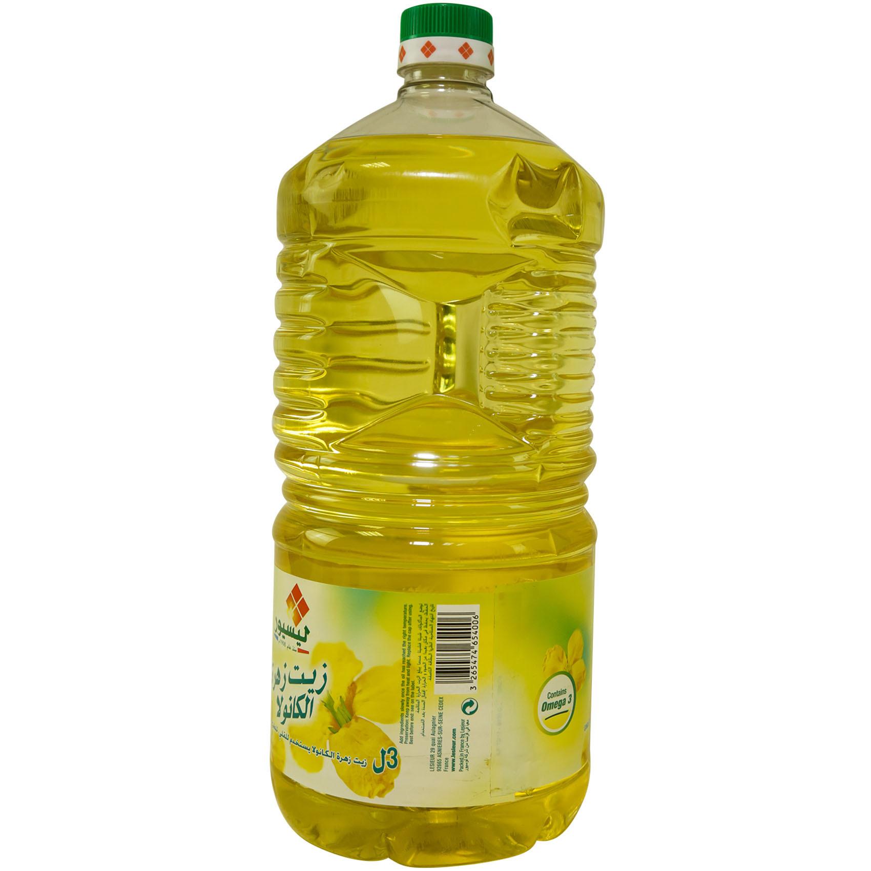 LESIEUR CANOLA OIL 3L