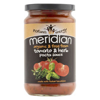 Meridian Organic Pasta Sauce Tomato & Herb 440g