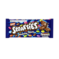 Nestle Smarties Sharing Block Chocolate 100GR