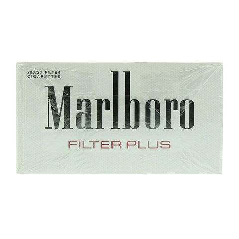 Marlboro-Silver-Filter-Plus-200/20-Cigarettes(Forbidden-Under-18-Years-Old)