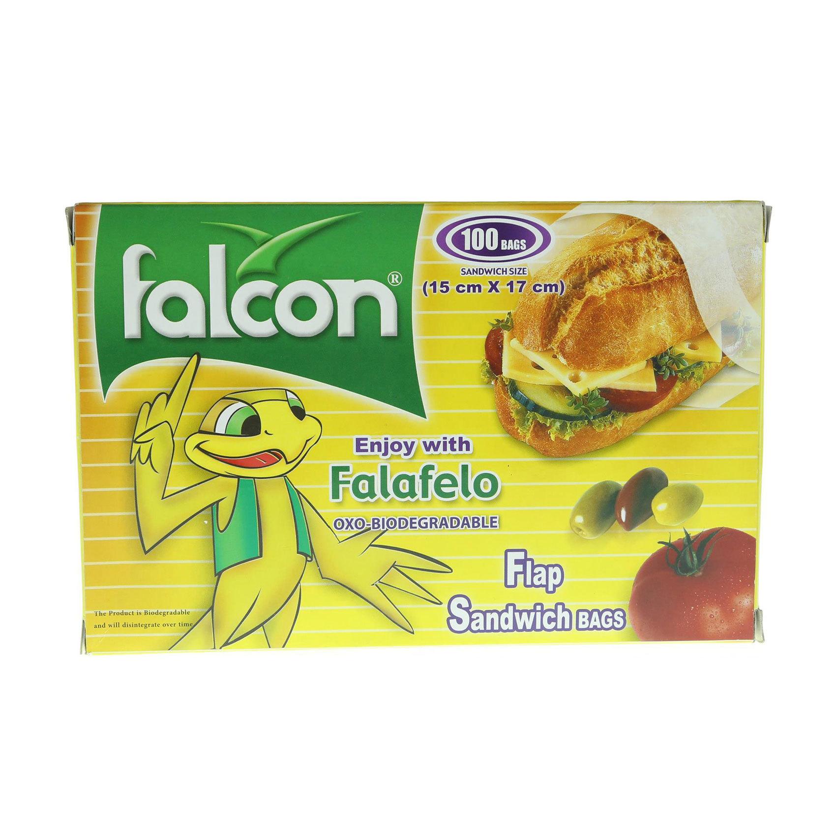 FALCON SANDWICH BAG 100
