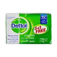 Dettol Soap Original 120GR 3+1 Free