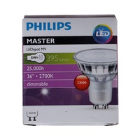 Philips Led Classic Dimmable Spot Light 5 Watt Lumi 395 2700K