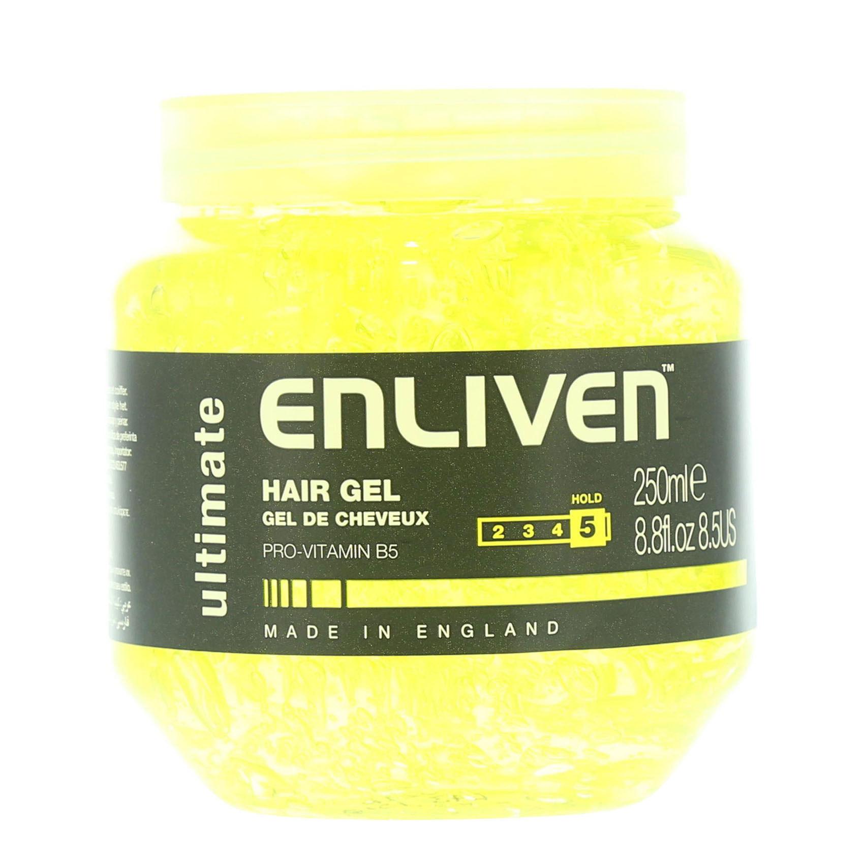 ENLIVEN HAIR GEL ULTIMAT HOLD 250ML