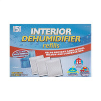 151 Interior Dehumidifier Refills 400GR X3