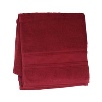 كنزي منشفة إستحمام قياس 70x140 سم لون عنابي