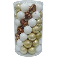 Balls Set 70Pcs 8Cm Gold/White