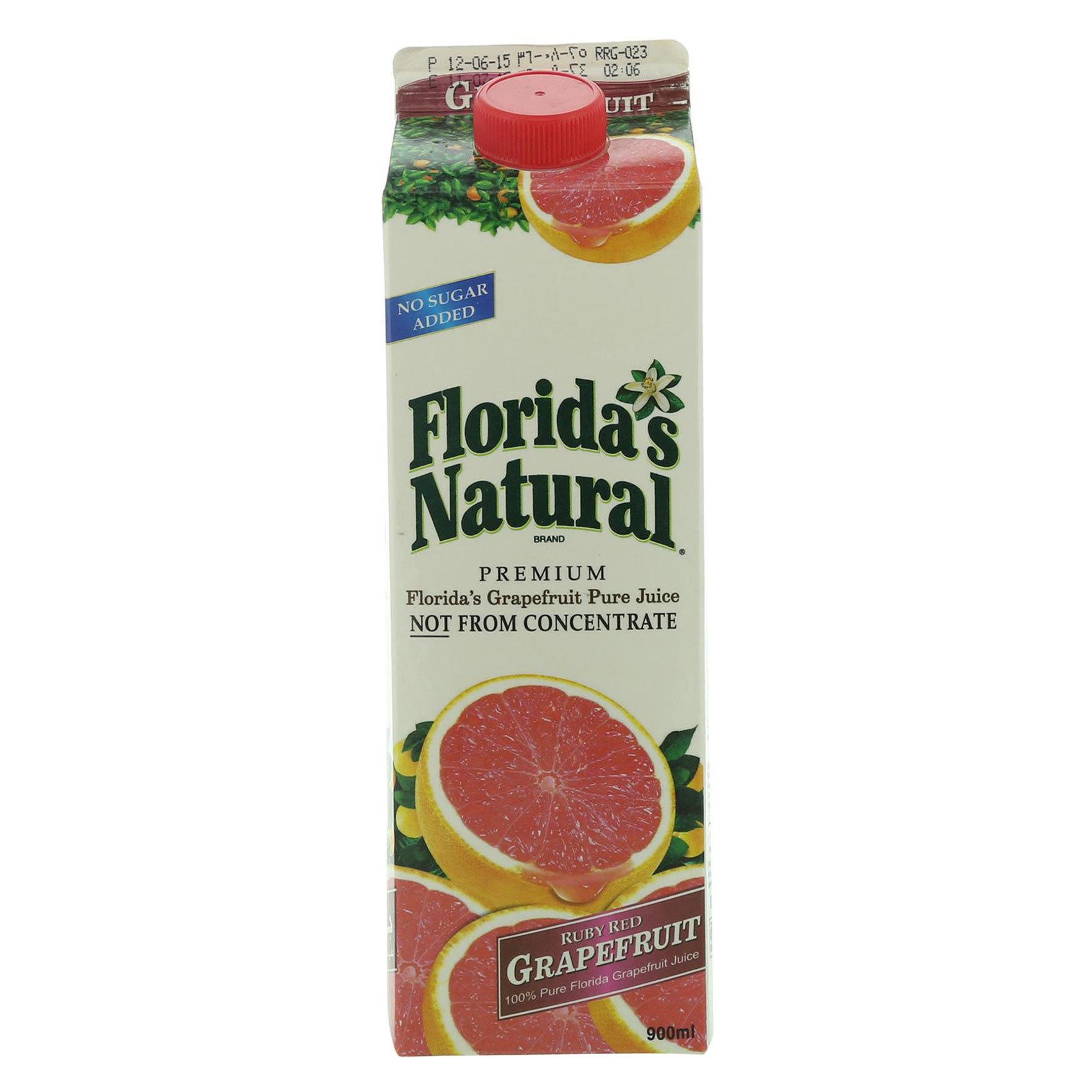 FLORIDA JUICE GRAPEFRUIT 0.9L