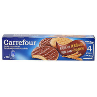Carrefour Cereal Biscuits Milk Chocolate 200g