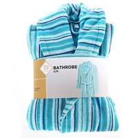 TEX Bathrobe S/M Turquoise