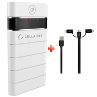 Cellairis Power Bank 10000mAh + 3 in 1 Cable