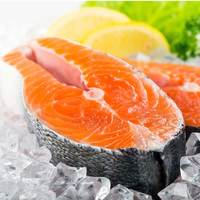 Fresh salmon fish steak norway (per Kg)