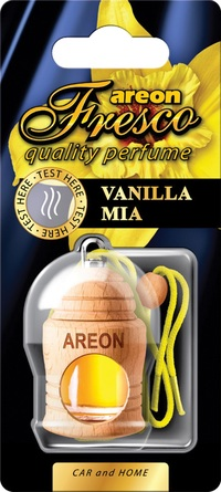 Areon Air Freshener Vanilla Mia Fresco