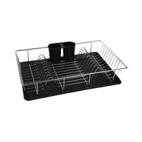 House Care Metal Wire Dish Metal With Tray Rectangular