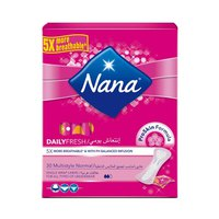 Nana Ladies Pads Pantyliner Multi-Style 30 Napkins