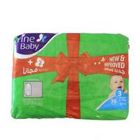 Fine Baby Diapers Medium 36 Diaper
