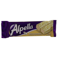 Alpella White Chocolate Wafer 36g