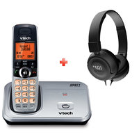 Vtech Cordless Phone CS6319 Silver + JBL Headset T450