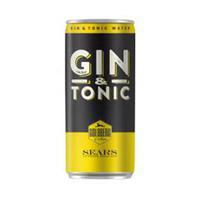 Goldberg Gin & Tonic Water 10% Alcool 33CL