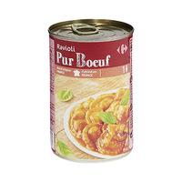 Carrefour Raviolis Pure Boeuf 1/2