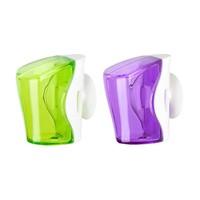Flipper - 2 In 1 Green & Purple Toothbrush Holder - Flr-Bs-Gn-Pp