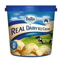 Bulla Real Dairy Ice Cream Vanilla 1L