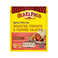 Old El Paso Spice Mix For Roasted Tomato And Pepper Fajitas 30GR