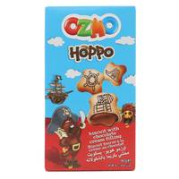 Ozmo Hoppo Biscuit With Chocolate Cream Filling 40g