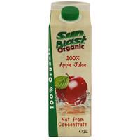 Sun Blast Organic Apple Juice 1L