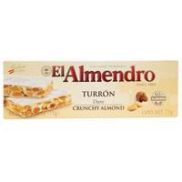 El Almendro Turron Duro Crunchy Almond 75g