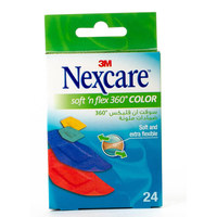 Nexcare Soft N' Flex 360° Color 24 Bandages