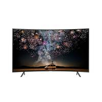 تلفزيون سامسونج بشاشة سمارت ألترا إتش دي منحنية 4K حجم 49 إنش موديل UA49RU7300RXTW لون أسود